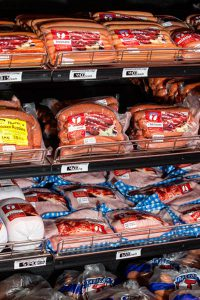 Theron's Meat - Meat on a shelf